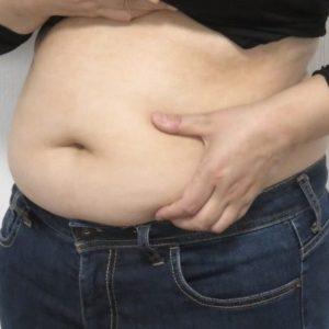 ダイエット前の体型