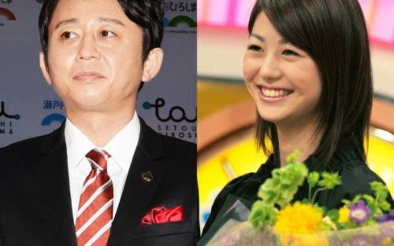 有吉弘行さんと夏目三久さん