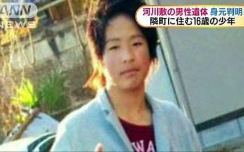 埼玉県東松山市にある都幾川河川敷で砂の中に埋まった少年の遺体