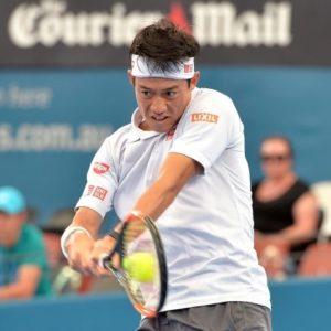 男子シングルテニスの錦織圭選手