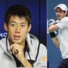全米オープン男子シングルテニス世界ランク2位のアンディ・マレーを錦織撃破