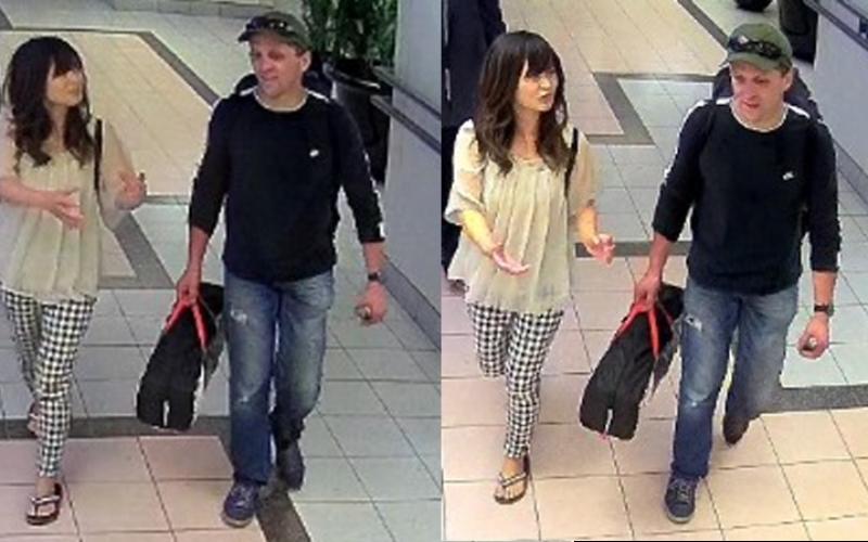 バンクーバーで失踪している古川夏好さんが白人男性と一緒に歩く姿を確認
