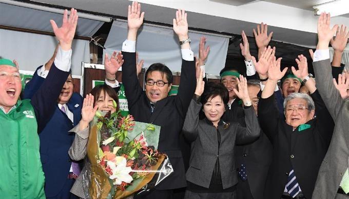 小池百合子氏を応援した自民党の若狭氏の処分は厳重注意に留まった