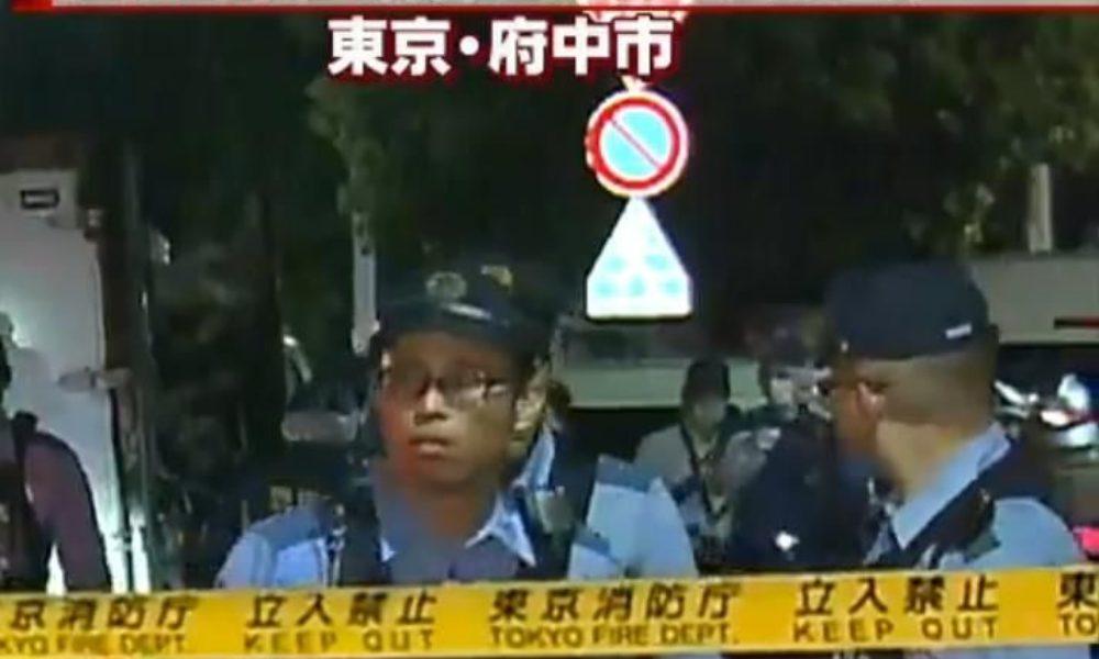 東京府中市是政の高架下でトラックが炎上して荷台から遺体