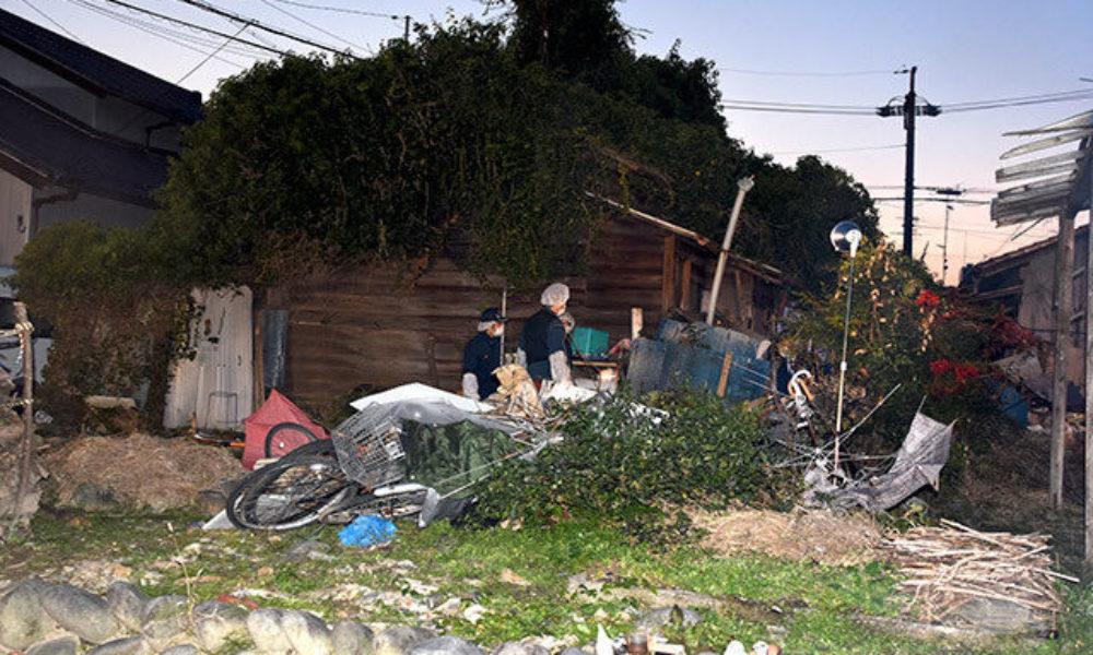 岐阜県岐阜市茜部本郷の借家で男女三人の遺体が発見