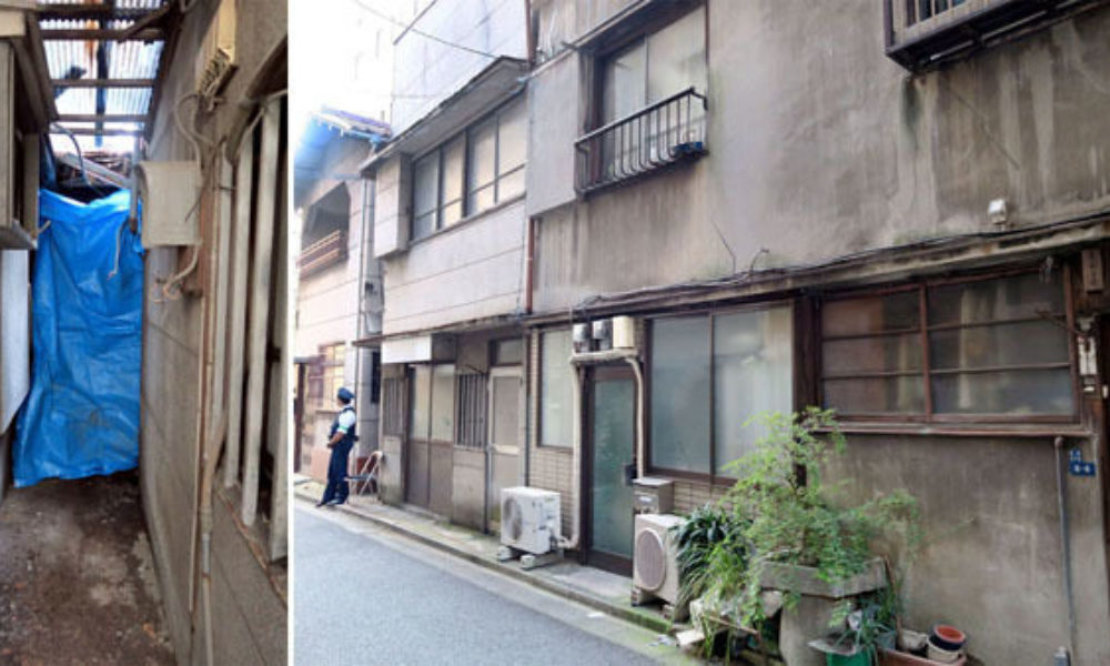 東京都新橋の資産家が20億円の資産を残して白骨死体で発見される