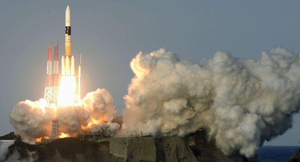 通信衛星のきらめき2号搭載ロケットの打ち上げに成功