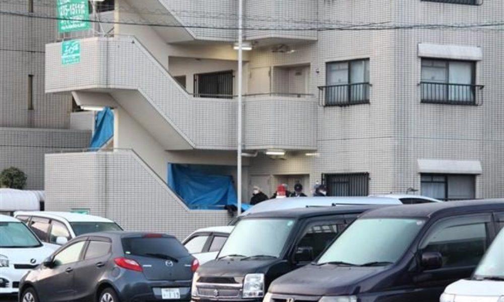 静岡市葵区にあるマンションの1階住居で家族4人が刺殺された事件