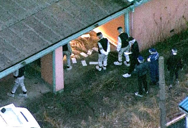 愛知県豊山町豊場の廃業ホテル内で複数の刺し傷がある男性遺体