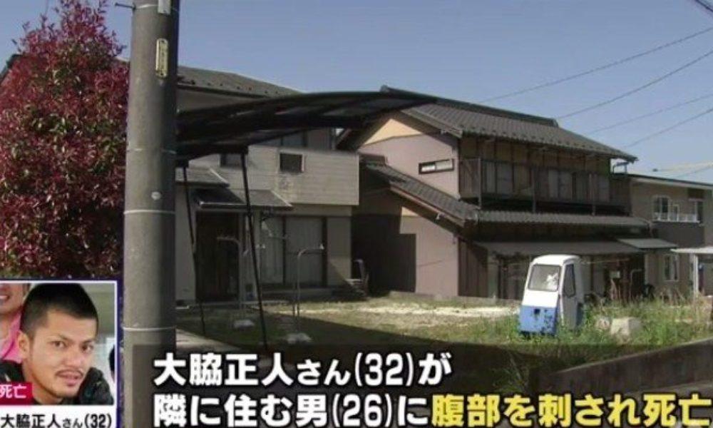 岐阜県瑞浪市の自宅敷地内で複数人でバーベキュー中に刺殺事件