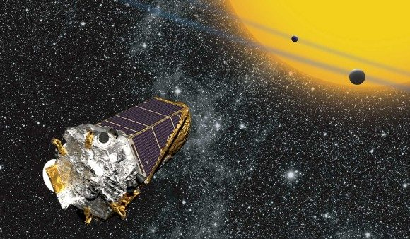 生命が存在する惑星候補がケプラー宇宙望遠鏡で観測される