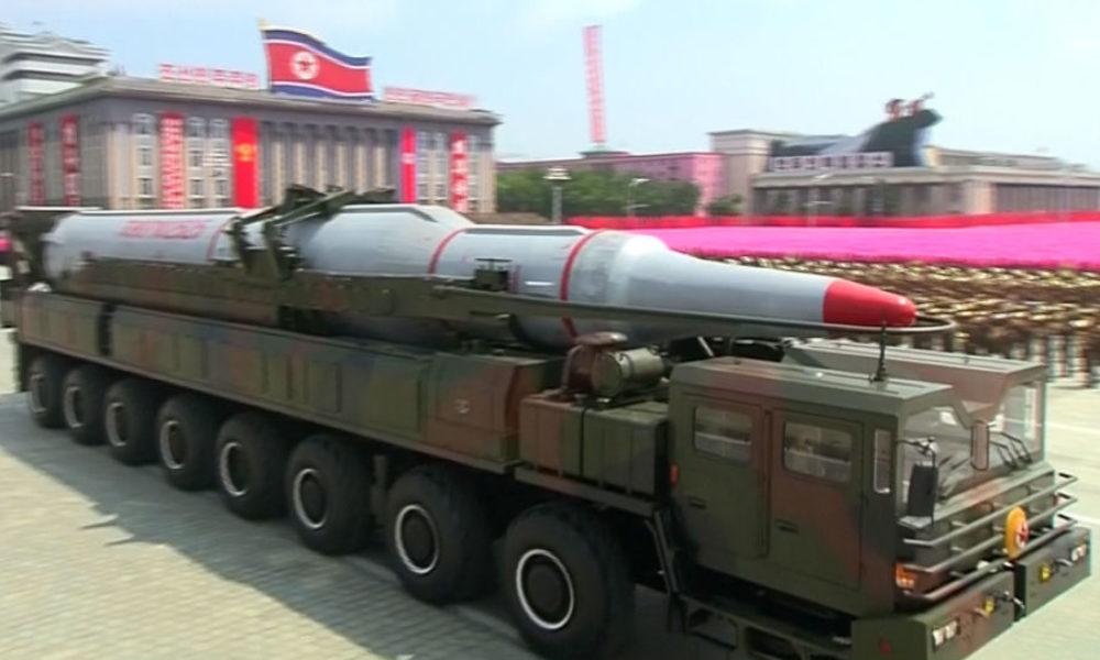 北朝鮮で弾道ミサイルを積んだ移動式発射台が捕捉