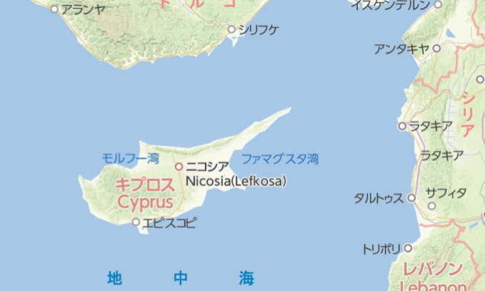 キプロス島で連続殺人事件