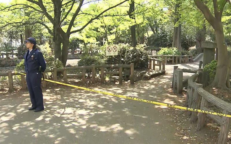 三鷹市の井の頭公園で高齢女性の遺体