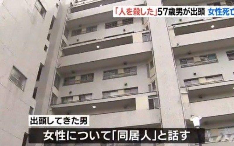 大阪府堺市南区の自宅で同居している女性殺害