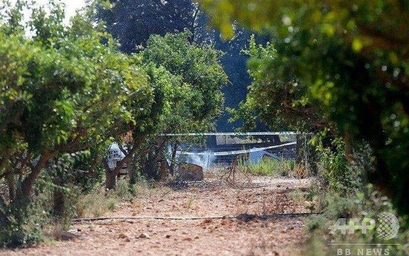 マジョルカ島の上空で2台の飛行物体が激突して7人が死亡