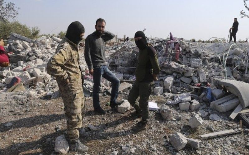イスラム国過激派の最高指導者が米軍の作戦で自爆