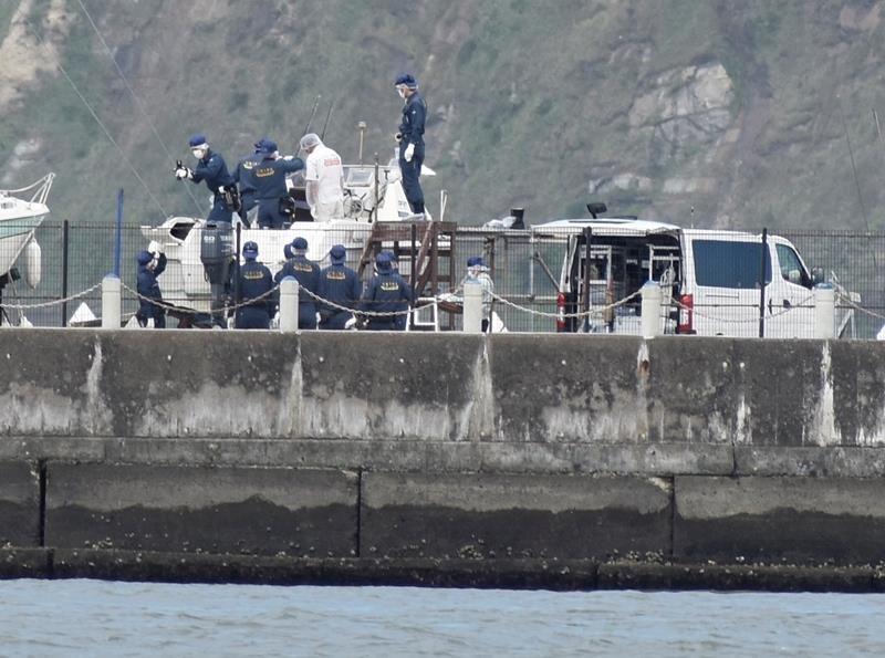 千葉県銚子市のマリーナに停泊中のボートから身元不明な白骨遺体