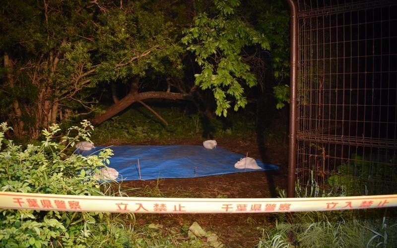 千葉県東金市の雑木林に男性の遺体を遺棄して埋めた容疑で逮捕