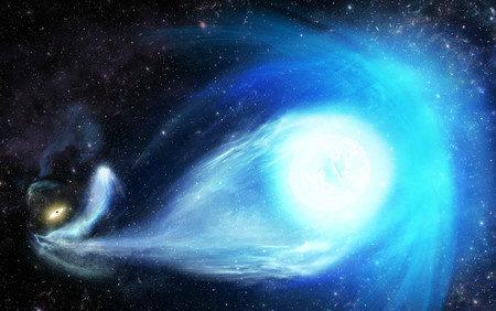 天の川銀河で超高速移動する恒星が発見された