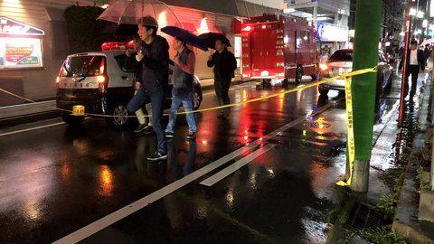新潟市中央区にある雑居ビルで飲食店勤務の女性が男に刃物で刺殺される事件