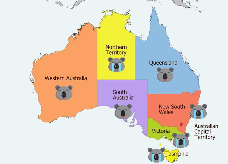 オーストラリア東部で森林火災に加えて他の場所でも大規模な火災