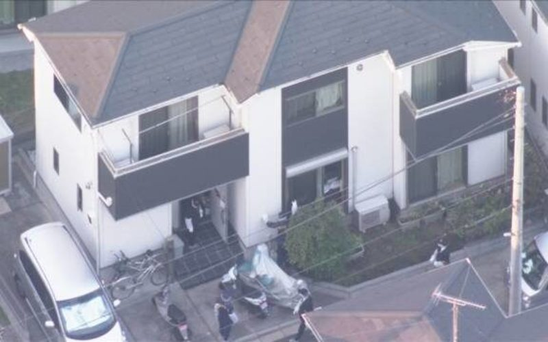 東久留米市の住宅で男性が鋭利な刃物で滅多刺しにされた刺殺事件