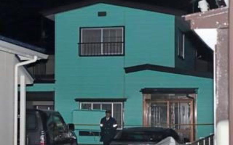 青森県八戸市にある住宅で高齢女性が玄関先で首を絞められ殺害