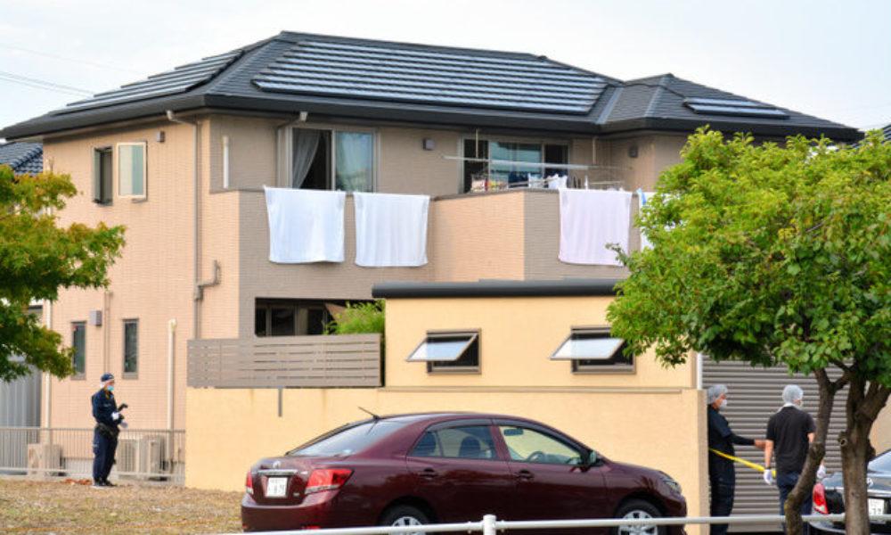 岐阜県北方町にある二階建て住宅に複数人で押し込む強盗傷害