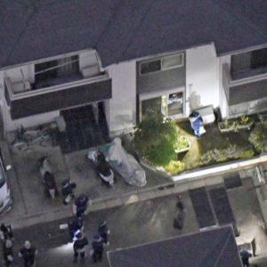 東京都東久留米市の住宅で強盗殺人と見せ掛けた次男逮捕