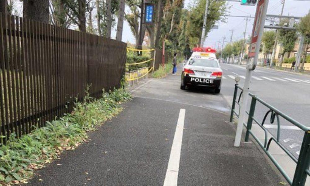 東京都東村山市の小平霊園で粘着テープを貼られ血を流した男性死亡