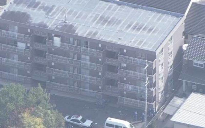 愛知県岡崎市日名本町にあるマンションで刺殺された男性の遺体