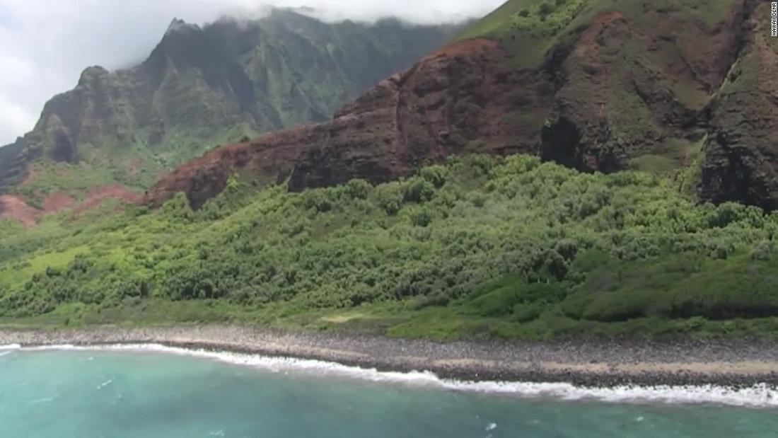 米ハワイ州カウアイ島で操縦士と乗客の6人が乗ったヘリが消息を絶つ