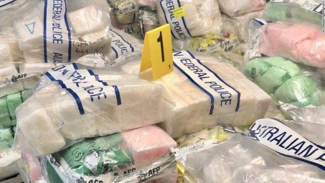 豪州で最大規模となる1.5トンの密輸された覚醒剤を押収