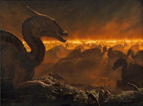 地球で恐竜が6600万年前に小惑星の衝突で絶滅した原因の解明