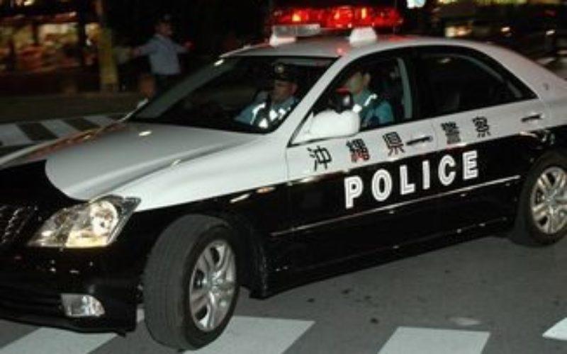 在沖縄米海軍に所属している三等兵曹が交際相手の女性を殴打