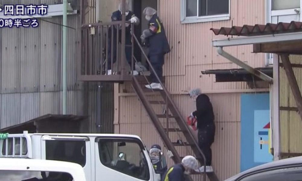 三重県四日市市にある塗装会社の寮でミャンマー人の男性が刺殺事件