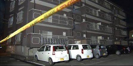 愛知県岡崎市にあるマンションの室内で金貸しの男性殺傷事件