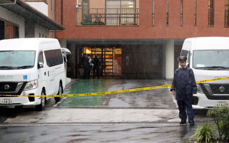 東京都新宿区にある病院の駐車場で理事長が殺傷された事件