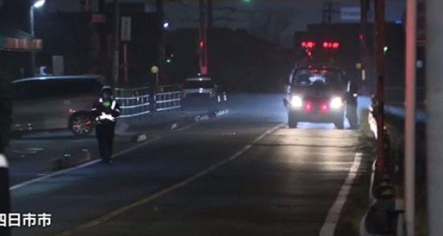 三重県四日市市西日野にある路上で女子高生が轢き逃げされて死亡