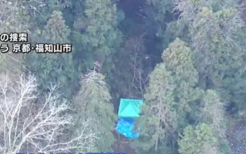 京都府福知山市の山中の中に埋められていた男性殺害事件