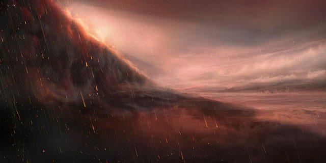 太陽系外惑星の中には日が差し込まない夜の空から鉄の雨が降る現象がある