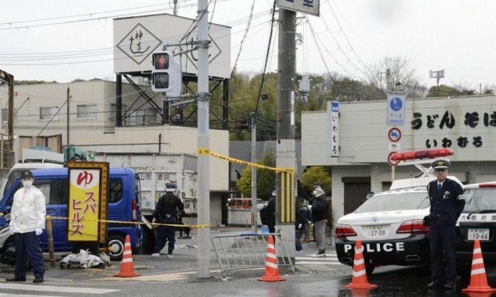 大阪狭山市の路上で外国人風の男に待ちぶされて現金を奪おうと背後から男性を襲撃