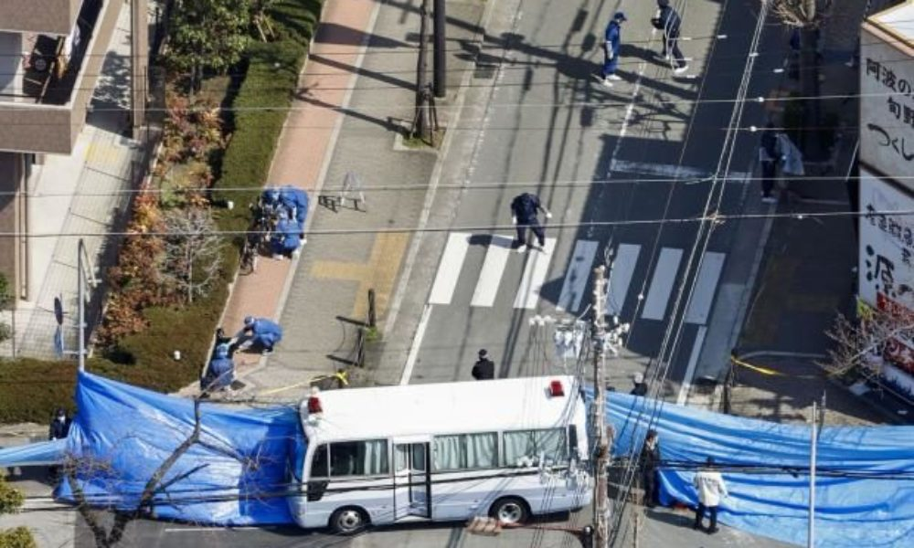 兵庫県尼崎市長洲西通りの路上でコンクリートブロックで殴られた男性の遺体