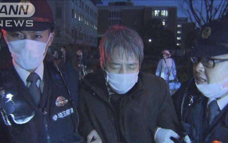 埼玉県にある県庁前の路上で妻を殺傷した容疑で逮捕された別居中の夫