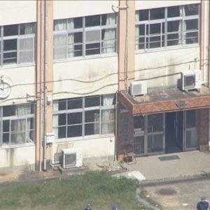 福岡市西区玄界島にある廃校舎の中で高齢女性が襲われその後死亡
