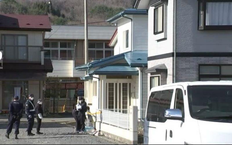 岩手県久慈市にある住宅で妻が夫を殺害した容疑で逮捕