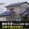 千葉県稲毛区の住宅で1歳の女の子を刃物で刺して殺害した母親