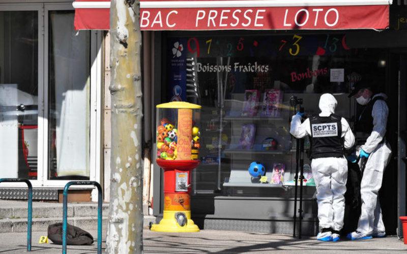 フランス南東部にあるロマン・シュル・イゼールで無差別殺人
