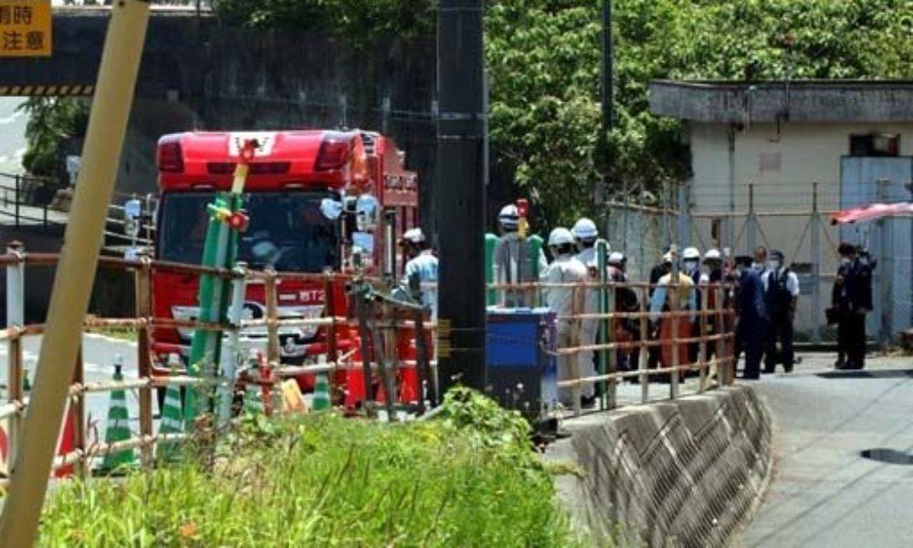 山口県岩国市で下水道の工事中に硫化水素が発生して1人が死亡